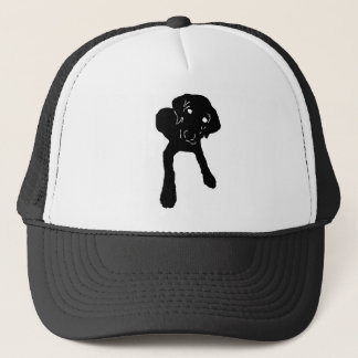 Puppy Down Trucker Hat