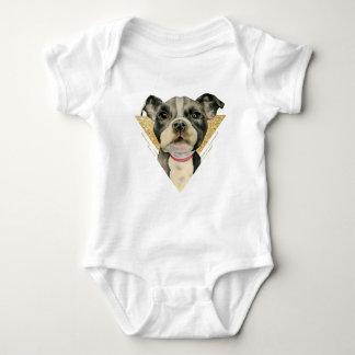 Puppy Eyes 3 Baby Bodysuit
