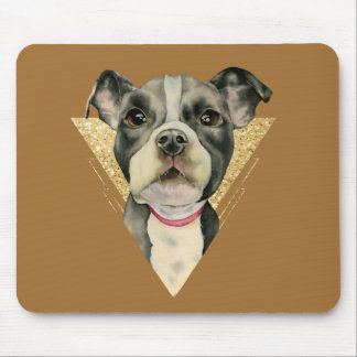 Puppy Eyes 3 Mouse Pad