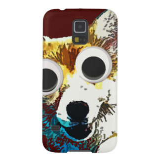 Puppy Eyes Galaxy S5 Cover