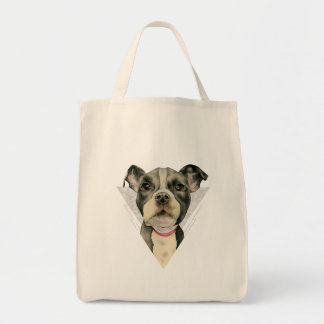 Puppy Eyes Watercolor Painting 2 Tote Bag