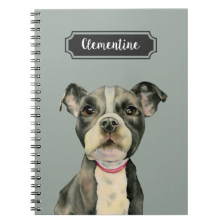 Puppy Eyes Watercolor Painting Notebooks