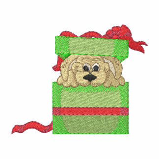 Puppy For Christmas Hoody