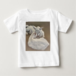 puppy goat in the farm baby T-Shirt