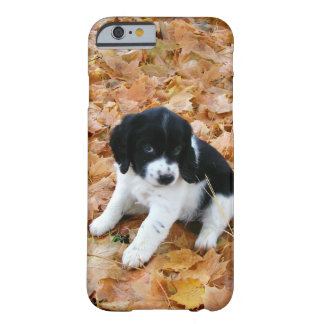Puppy in Autumn Barely There iPhone 6 Case