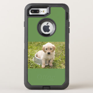 Puppy In Dish, Otterbox Case