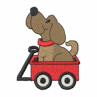 Puppy In Wagon