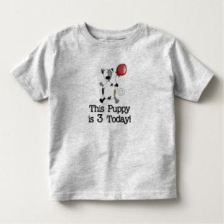 Puppy is 3 Birthday Toddler T-Shirt