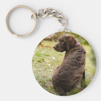 puppy key ring