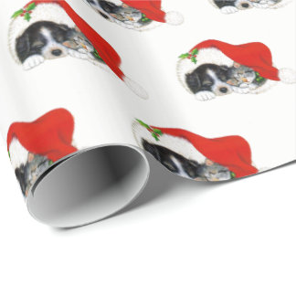 Puppy & Kitten Christmas Wrapping Paper