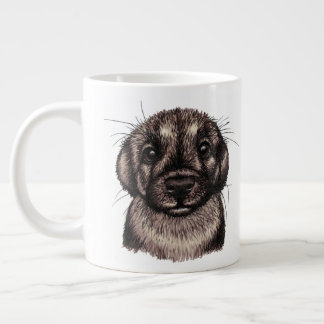 Puppy Large Coffee Mug