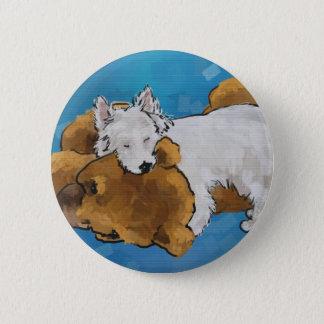 Puppy Love 6 Cm Round Badge
