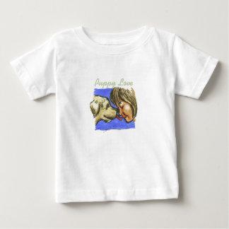 """""""Puppy Love"""" - Baby Fine Jersey T-Shirt"""