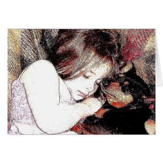 puppy love card