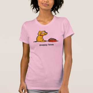Puppy Love (for Amanda) T Shirts
