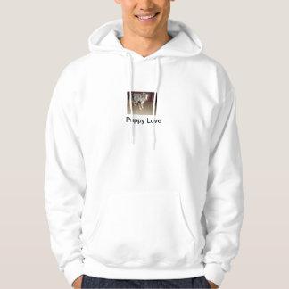 Puppy Love Hooded Sweatshirts