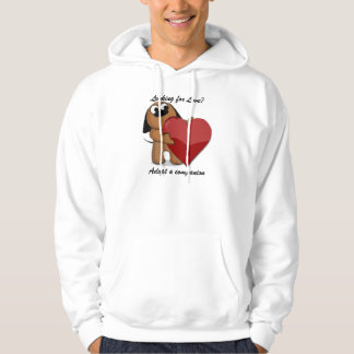 Puppy Love Hooded Top