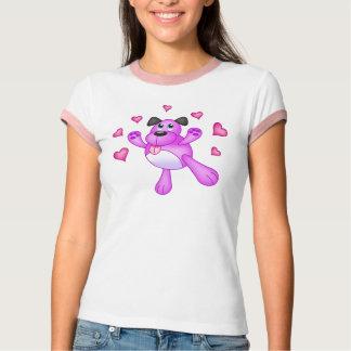 Puppy Love Ladies T-Shirt