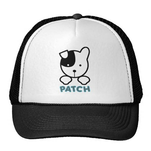 Puppy Love Patch Mesh Hats