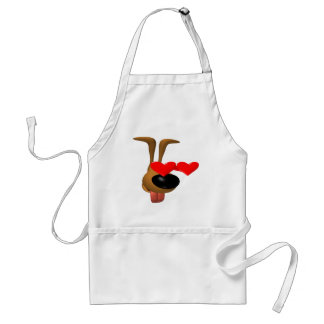 Puppy Love T-shirts and Gifts Adult Apron