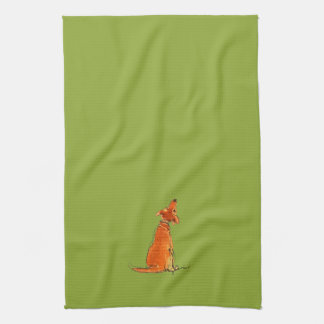 Puppy Love Towel ~ Kiwi