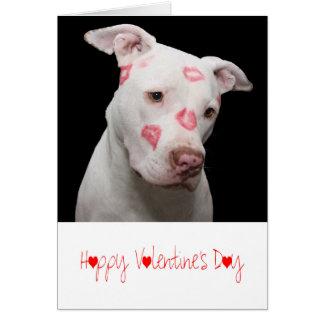 Puppy Love   Valentines Day Card
