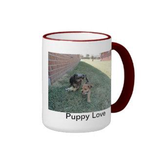 Puppy Love Yorkie mug