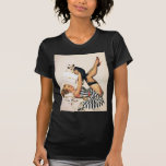 Puppy Lover Pin-up Girl - Retro Pinup Art Tees