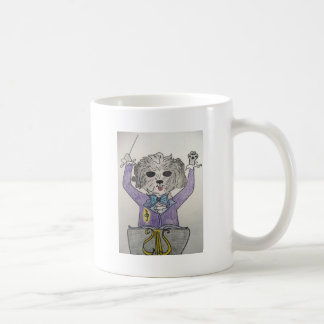 Puppy Maestro Coffee Mug