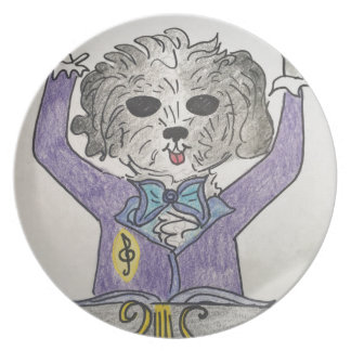 Puppy Maestro Plate