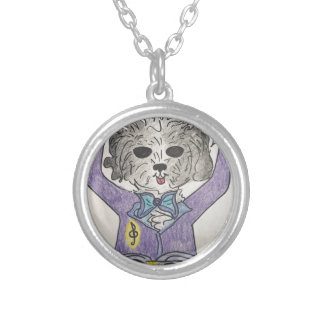 Puppy Maestro Silver Plated Necklace