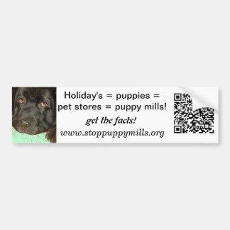 Puppy Mill Awareness Bumper Sticker
