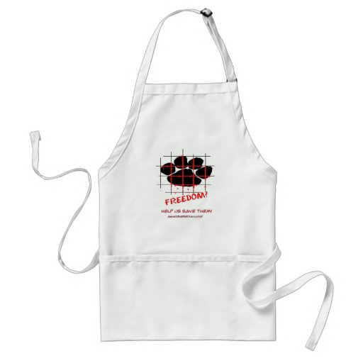 Puppy Mill Awareness Day Apron