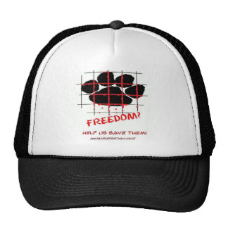 Puppy Mill Awareness Day Mesh Hats