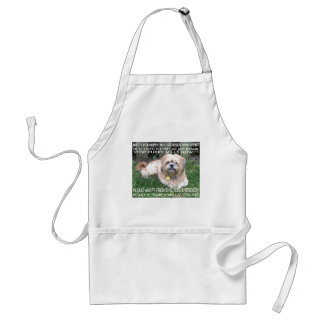 Puppy Mill Survivor - Give Mill Dogs a 2nd Chance Apron