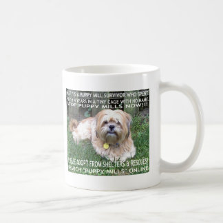 Puppy Mill Survivor - Give Mill Dogs a 2nd Chance! Mugs