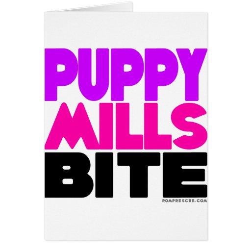Puppy Mills Bite Card