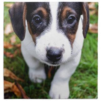 puppy napkin