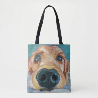 Puppy Nose Tote Bag