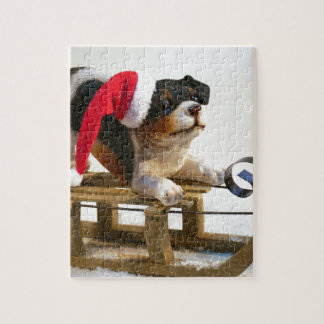 Puppy on a Sled Puzzles