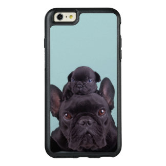 Puppy On The Head Of His Mother OtterBox iPhone 6/6s Plus Case