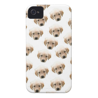 puppy pattern iPhone 4 Case-Mate case