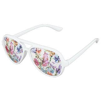 PUPPY PAW PRINTS | FLORAL SUN GLASSES