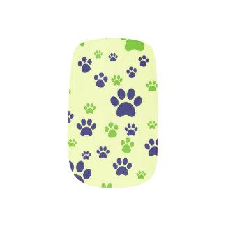 Puppy Paws Minx Nail Art