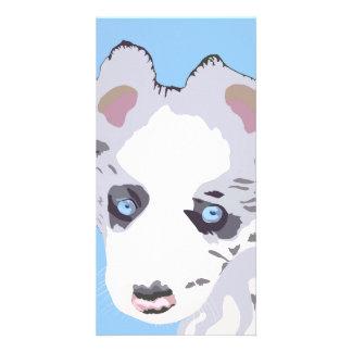 Puppy Photo Card