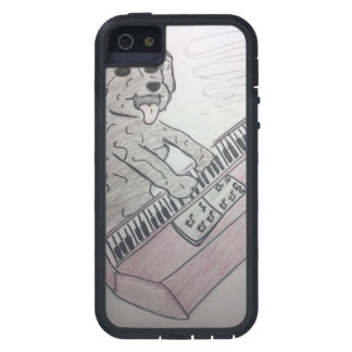 puppy piano iPhone 5 covers