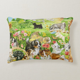 Puppy Play Decorative Cushion