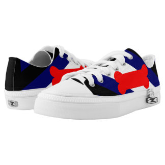 Puppy Play Pride Flag Custom Zipz Low Top Shoes Printed Shoes