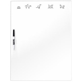 Puppy Potty, Food, and Exercise Tracker Dry Erase Dry Erase Board