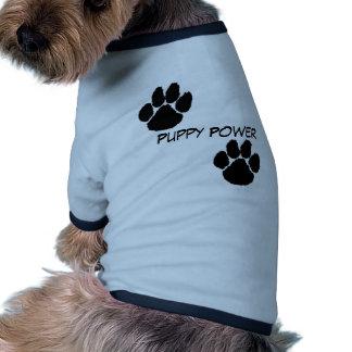 Puppy Power Ringer Dog Shirt